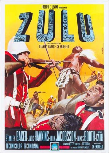 Posterlounge Acrylic print 30 x 40 cm: Zulu by Everett Collection