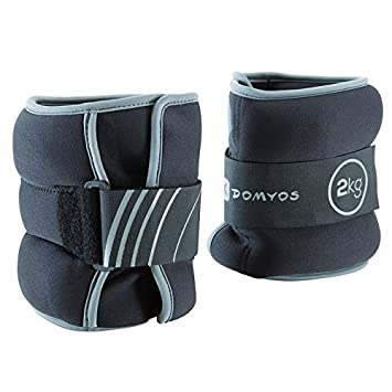 DOMYOS GYMWEIGHT - 2 X 2KG Ankle Weights at amazon