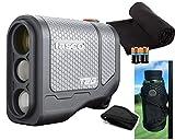 Tasco T2G (Standard Version) Golf Laser Rangefinder PlayBetter Pack | 2019 Release | 5X Mag, 1 Yard Accuracy, Scan Mode, | Case, Microfiber Towel, Two CR2 Batteries