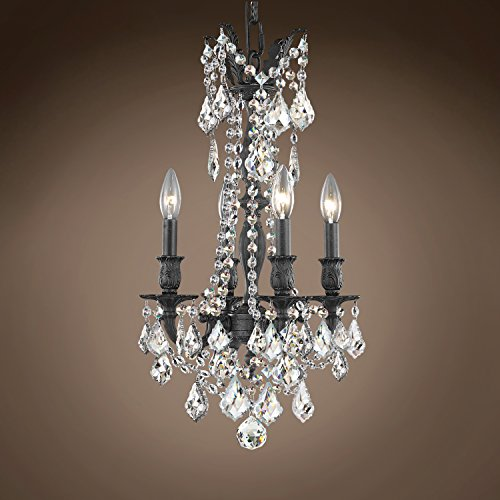 Joshua Marshal 701590-025 - Traditional Versailles 4 Light 13