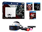 PS4 Sci-Fi Bundle (7 Items): PS4 Pro 1TB Console with Destiny 2, PSVR Doom, Skyrim, Gran Turismo Sport, PSVR Headset, Playstation Camera and 2 Move Motion Controllers
