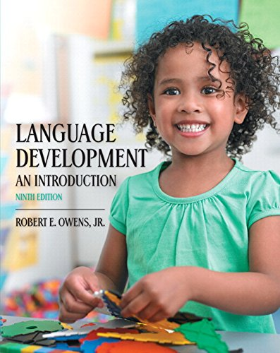 Language Development: An Introduction with Enhanced Pearson eText -- Access Card Package (9th Edition) (Card Language Development)