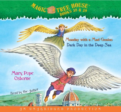Monday With a Mad Genius and Dark Day in the Deep Sea (AUDIOBOOK) [CD] (Magic Tree House, Book 38 and Book 39) - Book  of the Magic Tree House