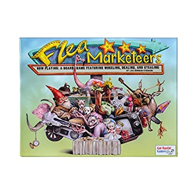 Gut Bustin' Games Flea Marketeers Board Game: Toys & Games