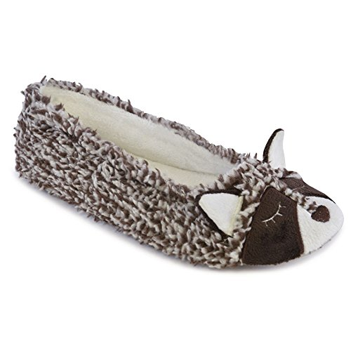 Chaussons Style Brown Fille Up Racoon Femme It Ewwf4