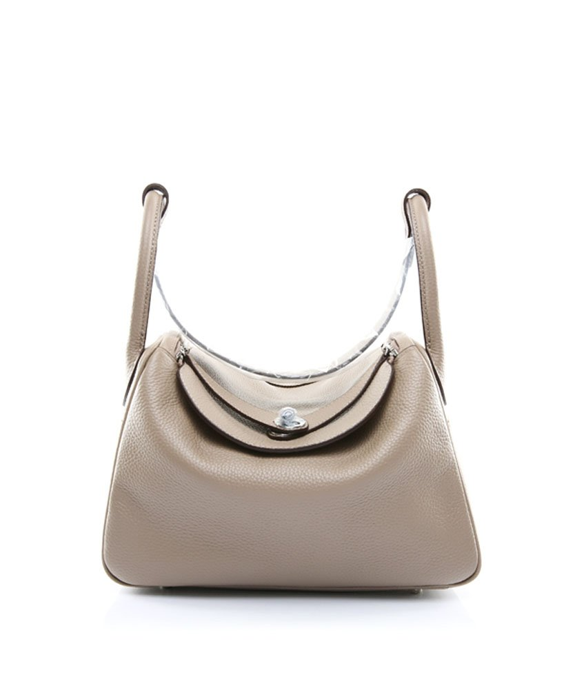 Ainifeel Women's Genuine Leather Shoulder Handbag And Purse Hobo Bag (Taupe)
