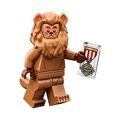 LEGO The Movie 2 Wizard of OZ Collectible Minifigure - Cowardly Lion (Sealed Pack): Toys & Games