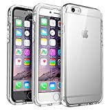 iPhone 6S Case, SUPCASE Ares Full-body Rugged Clear Bumper Case with Built-in Screen Protector for Apple iPhone 6 (2014) / iPhone 6s (2015) 4.7 Inch