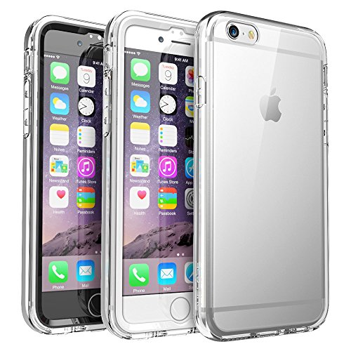 iPhone 6S Plus Case, SUPCASE Ares Full-Body Rugged Clear Bumper Case with Built-in Screen Protector for Apple iPhone 6 Plus 2014 / iPhone 6s Plus 2015 5.5 Inch