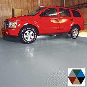 BLT Roll Out Garage Flooring   7.5u0027x20u0027    Slate Gray