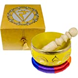 The New Age Source Chakra Singing Bowl Yellow Solar Plexus