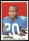 Football NFL 1969 Topps #254 Mel Renfro Excellent Cowboys