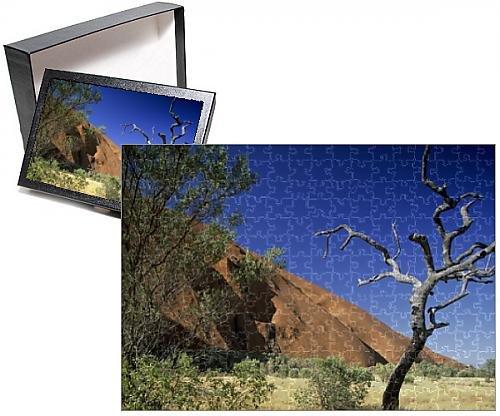 Media Storehouse 252 Piece Puzzle of Australia, Northern Territory, National Park Uluru-Kata Tjuta (9919767)