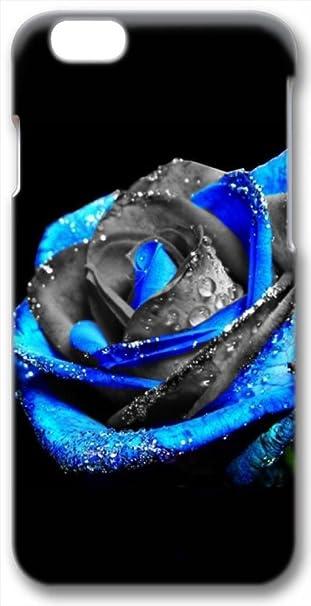 Blu Rosa Con Sfondo Nero 3d Iphone 6 Custodia Amazonit Elettronica