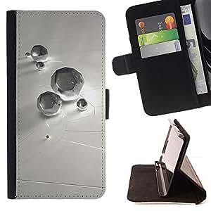 Momo Phone Case / Flip Funda de Cuero Case Cover - Resumen Diamond - Samsung Galaxy S3 III I9300