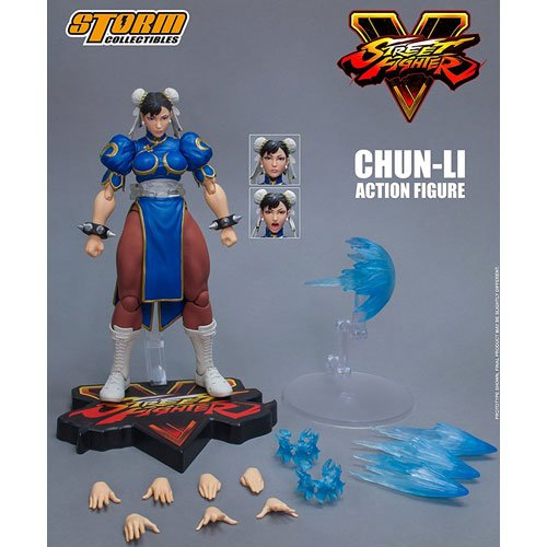 Street Fighter V Agent of Justice Chun-Li 1/12 Scale Action Figure