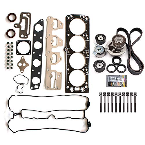 (SCITOO Engine Timing Belt and Head Gasket Kit Fits 2004-2007 Chevrolet Optra 2.0L 1998CC 122Cu. in. l4 Gas DOHC Naturally Aspirated)