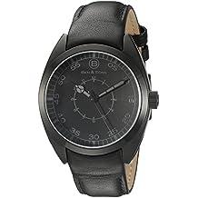 Ben & Sons Men's BS-10014-BB-01-GA Voyager Analog Display Quartz Black Watch