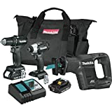 Makita CX300RB-R 18V LXT Lithium-Ion Sub-Compact Brushless Cordless 3-Pc. Combo Kit (Certified Refurbished)