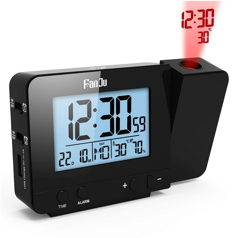 Despertador Proyector, Despertador Reloj Digital de Proyección ...