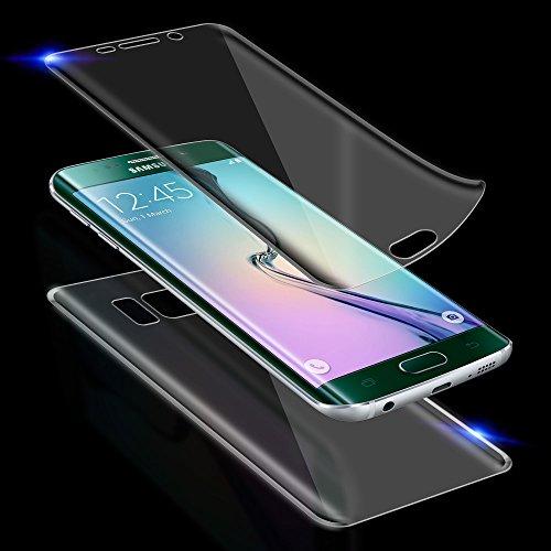 Screen Protector Full Body pellicola protettiva per custodia anteriore o anteriore e posteriore pellicola protettiva schermo display Trasparente Trasparente für Galaxy S7 edge G935 (Vorne+Hinten)
