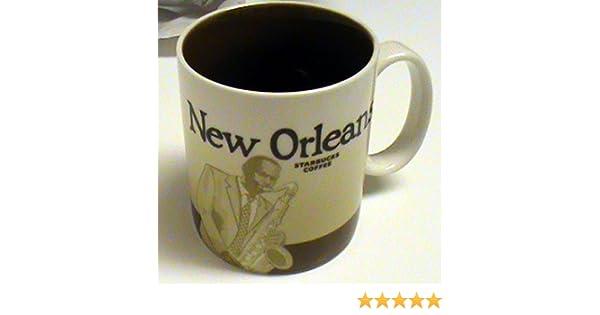 Starbucks Global Icon Collector Series Mug New Orleans 16 fl oz SYNCHKG055974