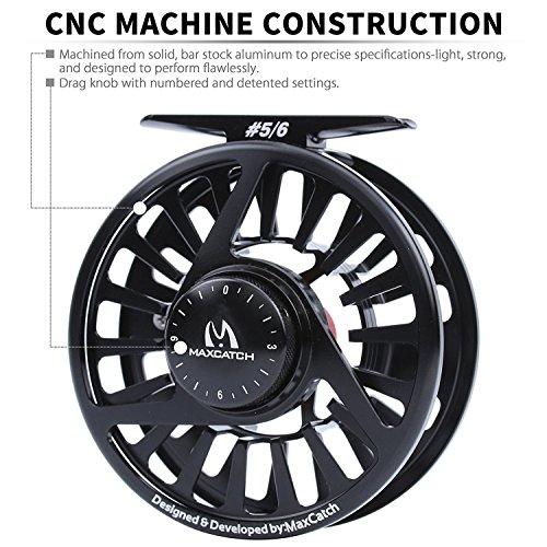 Maxcatch AVID Reel 1//3 3//4 5//6 7//8 9//10WT CNC Machined Aluminum Fly Fishing Reel