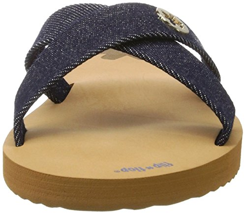 flip*flop Cross*denim - Sandalias Mujer Mehrfarbig (brown sugar)