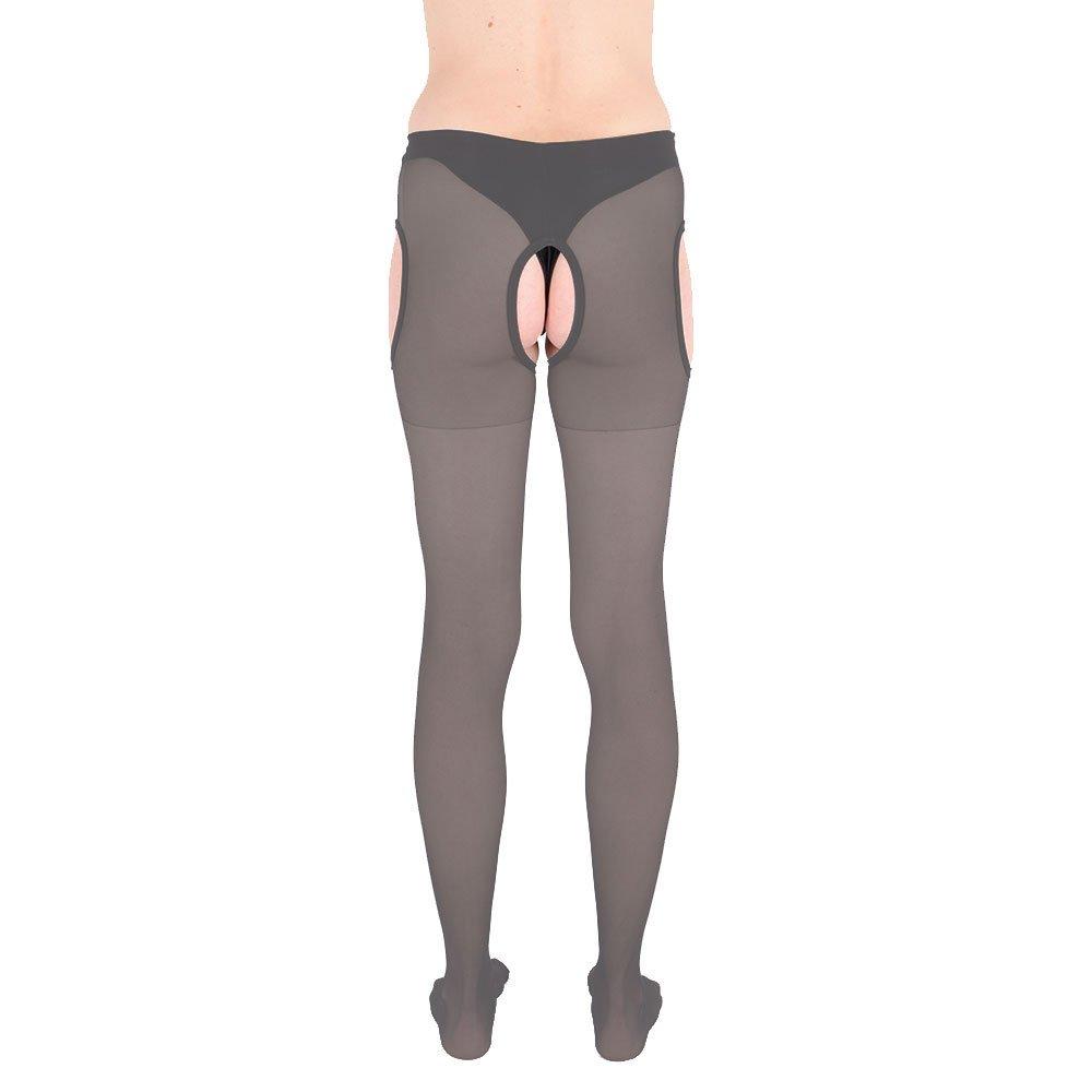 molti colori taglie S-3XL Fibrotex Legwear/ /Collants con reggicalze trasparenti 20/den
