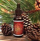 7 Sins Beard OIL Lumberjack Gluttony 1 Fluid Ounce Woodsy Smell Dropper Top