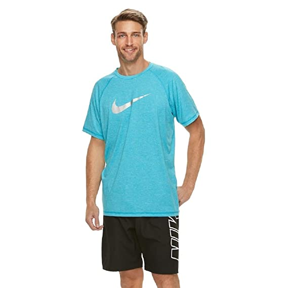 33fd09264 Amazon.com: Nike Men's Dri-FIT Heathered Hydroguard Tee: Sports & Outdoors