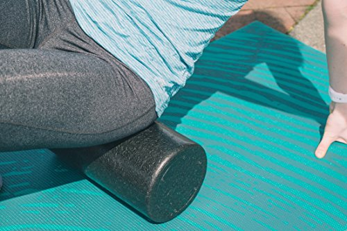 The Premo Source Foam Roller Set:12'' High-Density Foam Roller, Resistance Band, And 2 Lacrosse Balls For A Complete Muscle Recovery Bundle – Mobility Kit For Stretching, Injury Prevention And Workouts by The Premo Source (Image #3)