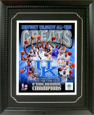 Encore Select 144-06 11 x 14 in. University of Kentucky Greats Deluxe Frame ()