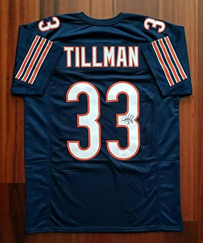 factory price 0d679 35997 Charles Tillman Autographed Signed Jersey Chicago Bears JSA ...