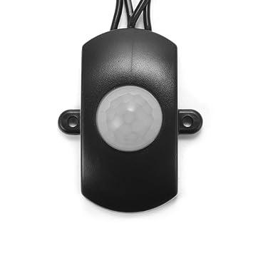 XCSOURCE® DC 5V a 24V Mini PIR Sensor Interruptor Ocupación Vacante Interruptor Sensor de Movimiento