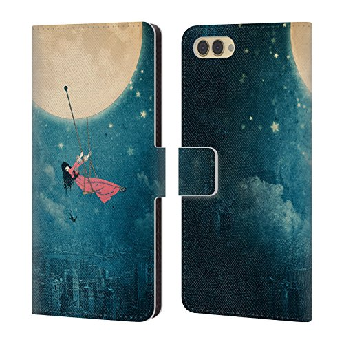 Love For Case Cover Huawei Smart Under Swing Designs Book Star A Leather Belle Sky Official P Case Moon Head Flores Wallet Wishing Enjoy Paula 7S YUwqUHd