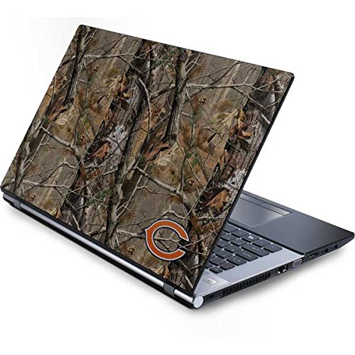- Skinit Chicago Bears Realtree AP Camo Generic 15.4in Laptop Skin - Officially Licensed NFL Laptop Decal - Ultra Thin, Lightweight Vinyl Decal Protection