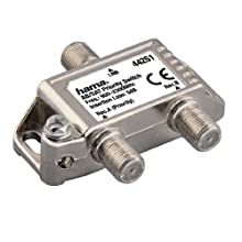 Hama - Repetidor de señal AB/SAT (conectores F, LNB)