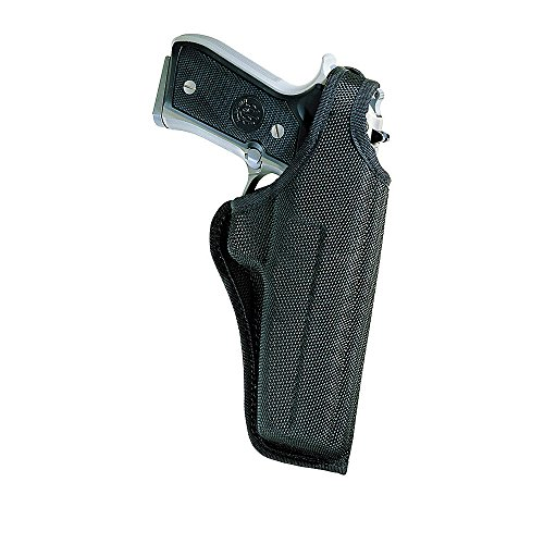 Bianchi Thumbsnap Belt Holster - Bianchi Accumold Black Holster 7001 Thumbsnap - Size 4 S&W K Frame 4 (Right Hand)