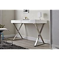 ULTRA Modern Glossy White Office Desk