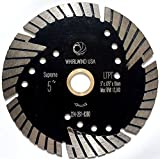 5 wet saw - Whirlwind USA LTPT 5 inch Dry or Wet Cutting General Purpose Power Saw Protected Continue Turbo Diamond Blades for Granite Stone Concrete (Factory Direct Sale) (5