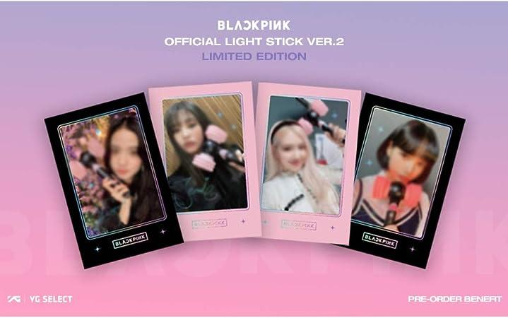 YG Ent Blackpink Official Lightstick Version 2 Limited Edition