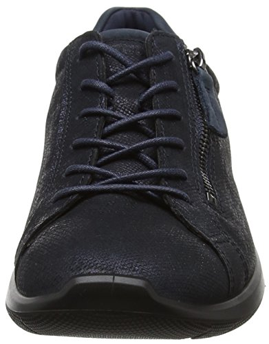Ecco Ladies Soft 5 Sneaker Blue (navy / Navy)