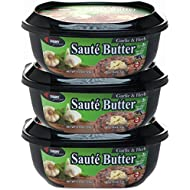 Chef Shamy Saute Butter, Garlic Herb, 4.5 Ounce (Pack of 3)