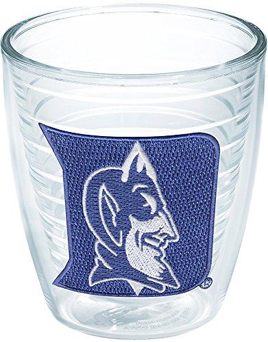 Tervis 1006536 Duke Blue Devils Logo Tumbler with Emblem 12oz, Clear