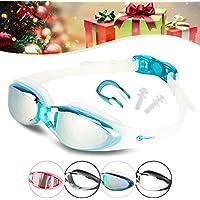 i SWIM PRO Swimming Goggles – No Leaking, Anti-Fog, UV...