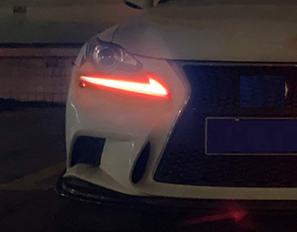 Blue CSS-Hamster New Protective Front Down Headlight Films Compatible with Lexus is 2013-2019 IS250 IS350 IS300h IS200t IS300