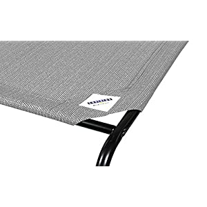 The Original Elevated Pet Bed By Coolaroo - Small Grey