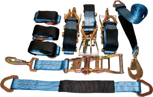 4 Axle Strap Tie Downs 24