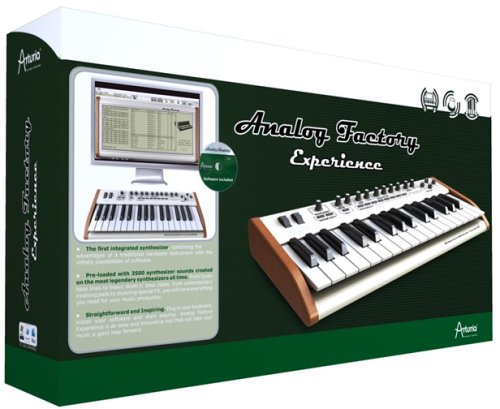 Arturia Analog Factory Experience Soft Synth wit- Analog Synthesizers Sounds by Arturia